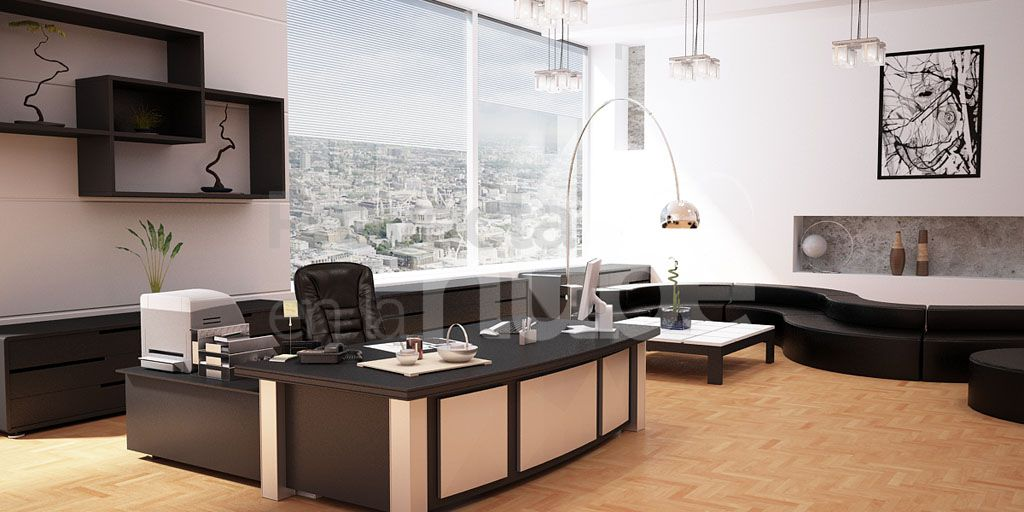 Sala de estar y oficina id ias for Sala de estar oficina